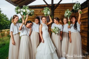 hayley and matts bridesmaids photo